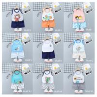Oblong Singlet Bayi Anak / Kaos Dalam Bayi / Setelan Bayi Lucu