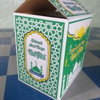 Kardus Lebaran Box Parcel Idul Fitri Kemasan Dos Boks Parsel Bingkisan