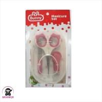 LUSTY BUNNY Manicure Set Gunting Kuku Bayi - NC 0006