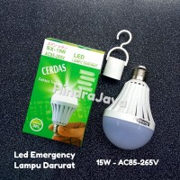 Lampu Led 15W + Led Emergency / Lampu Darurat SX-15W