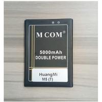 Batre Baterai Double Power Mcom HuangMi Huang Mi M5 Gigi Tengah