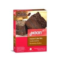 Haan Instant Cake Mix Brownies Kukus 475gr