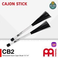 Meinl CB2 Nylon Cajon & drum Brush stick / stik kahon 34,8 cm