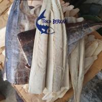 Ikan Asin Daging Tenggiri Tengiri Asli Kualitas No 1 Asli 500gram