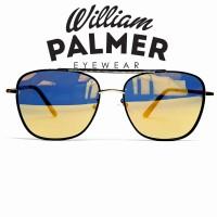 William Palmer Kacamata Hitam Sunglass Macon Blk Yellow 806637