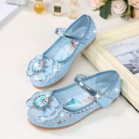 sepatu anak frozen01/flatshoes anak/sepatu glitter anak/sepatu elsa
