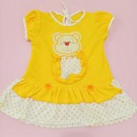 Dress bayi perempuan Bear / baju bayi perempuan
