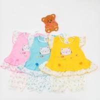 Setelan Baju Bayi Motuf Kucing Cat Warna Murah
