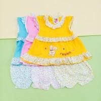 Setelan Bayi Murah morif Rabbit / Baju bayi Perempuan