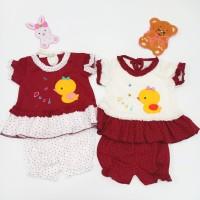 Baju Setelan Bayi Motif Bebek 2