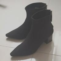 Sepatu Ankle Boots Mango