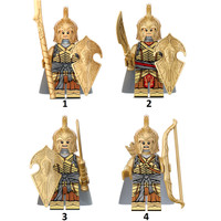 Lord of The Ring Elf Elven Sword Army Armor LOTR Minifigure Lego kw