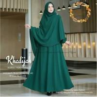 Khadijah Syari set Khimar Custom Size