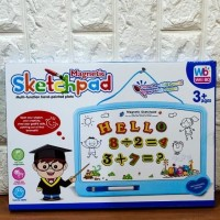 Magnetic Sketchpad - Papan Tulis Magnet Anak