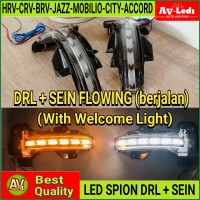 LED SPION DRL SEIN HRV JAZZ BRIO RS CRV BRV MOBILIO CITY ACCORD