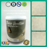 Cat Stucco Venetian Motif Semen SV 09-81 - Soft Grey - kemasan 1Kg