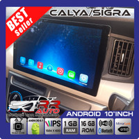 Calya/Sigra - head unit android 10in (free kamera + socket pnp)