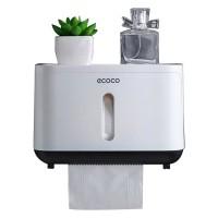 Kotak Tisu Tissue Storage Toilet Paper Box Dispenser - E1807 - Black