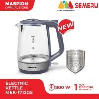 MASPION Kettle Electric Kaca 1.7Liter 800Watt MEK-1712GS