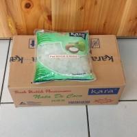 [Paket 12 pouch] KARA Nata de Coco Plain Dice 1 Kg / 1Kg / 1000 gr