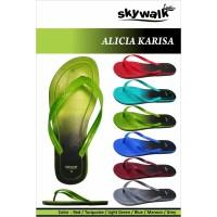 Sandal Skywalk Alicia Karisa - Biru, 9
