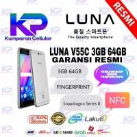 LUNA V55C 3GB 64GB NFC GARANSI RESMI