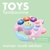 IQ ANGEL Tambourine Toys Mainan Musik Edukasi Baby Toys