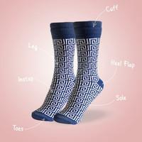 Kaos kaki motif AGF (Mazzy Dazzy) (Panjang) (ORIGINAL)