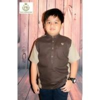 Kemeja Koko Lengan Pendek Anak Forboys 053