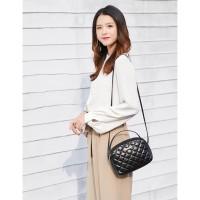TSQ02 HWT Korea Quilted Women Sling Bags / Tas Selempang Wanita