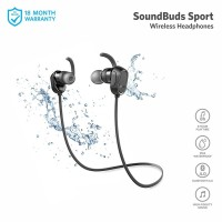 Earphone Bluetooth Anker SoundBuds Sport Black - A3233