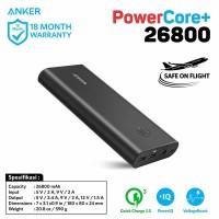 PowerBank Anker PowerCore+ 26800 mAh QC 3.0 Black - A1374