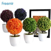 Freemir Bunga Plastik - Sakura Snowball Artificial Flower Plastic