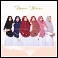 Cuci Gudang-Audina-Namia Khimar Pet Antem/ Hijab Instan/ Jilbab Jumbo/