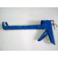 alat Tembakan Lem Kaca Silicone Sealant Tembak Kaca Botol Tabung biru