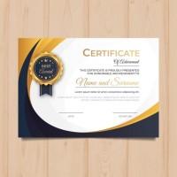 Cetak Sertifikat A4 Termurah / Cetak Sertifikat Seminar Penghargaan