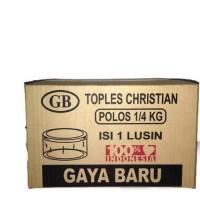 Best Product Gaya Baru Toples Christian Kue Kering Nastar Plastik Mika