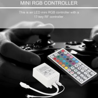 44-Key IR Remote Controller For 3528 5050 RGB LED SMD Strips Lights N