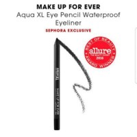Make up for ever aqua xl eyeliner Hitam pencil mini