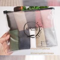Best Seller Ciput Rajut 2 warna Premium Nabnib Antipusing inner hijab