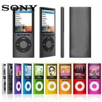 Sony MP3 Player Slim dengan LCD FM Radio Recording Video E-Book MP3