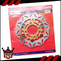 Disc Piringan Cakram Depan Standart Kembang Bulat Ring CNC Satria FU