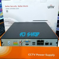 Nvr Unv NVR UNV Uniview 4Ch Full HD 1080P PoE Full PoE 4CH NVR UNV