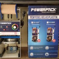 cup sealer mesin penutup gelas 22oz thay tea powerpack