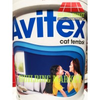 Cat Tembok Avitex Interior 25 Kg Ready Mix Gosend Only