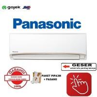 AC PANASONIC CS/CU-PN7UKJ 3/4 PK - R32 + PASANG + PIPA 3M - RESMI