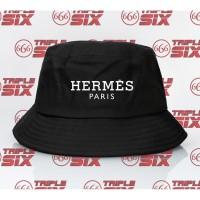 Topi Bucket Hat Premium Desain Herme Paris Hermes