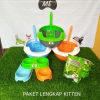 """Tempat Pasir Kucing """" PAKET LENGKAP KITTEN """""""