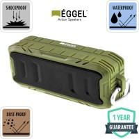 Eggel Terra 2 Waterproof Portable Bluetooth Speaker - Army Green