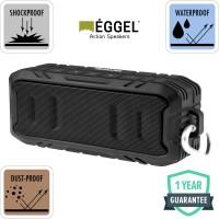 Eggel Terra 2 Waterproof Action Portable Bluetooth Speaker - Army Green